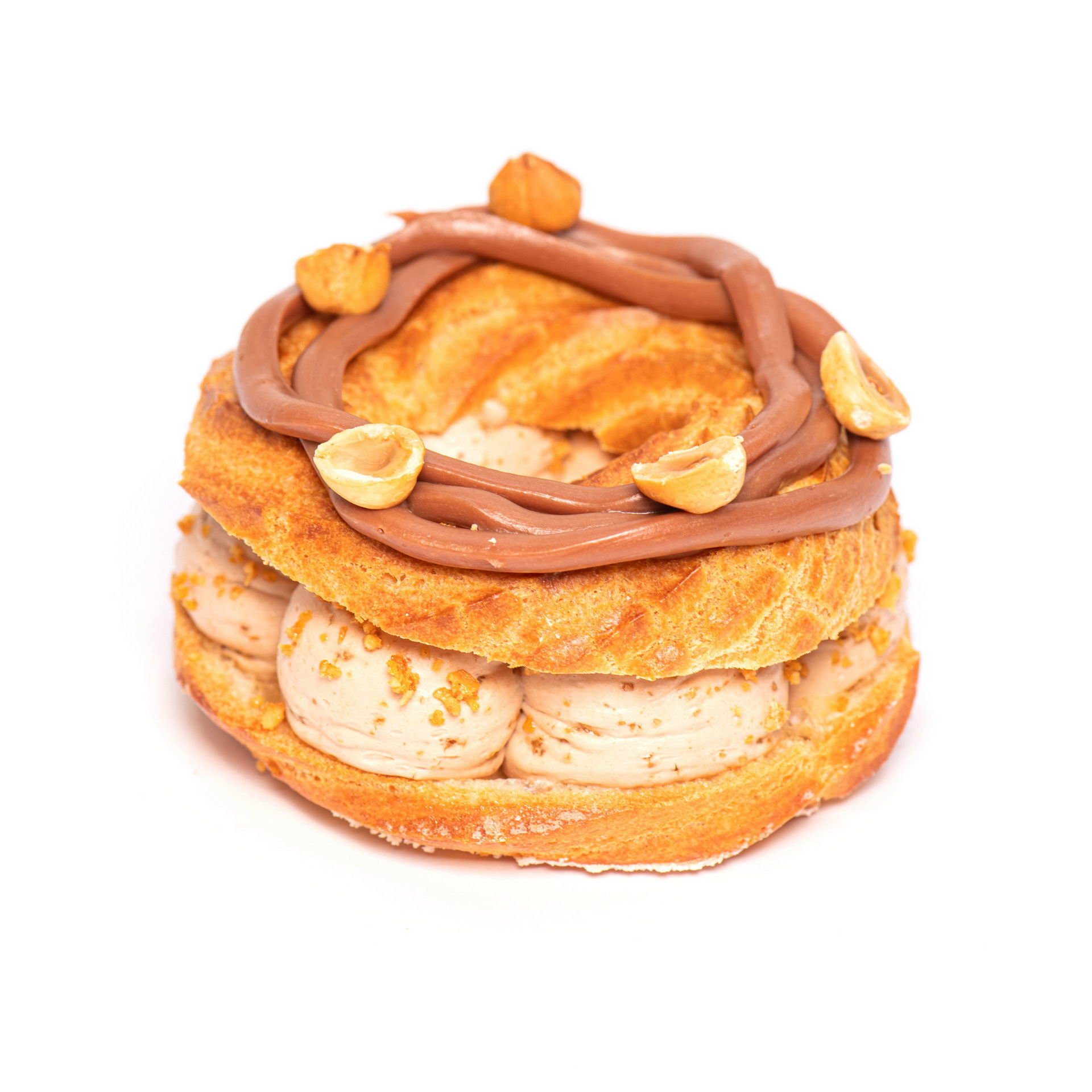 Hazelnut éclair ring